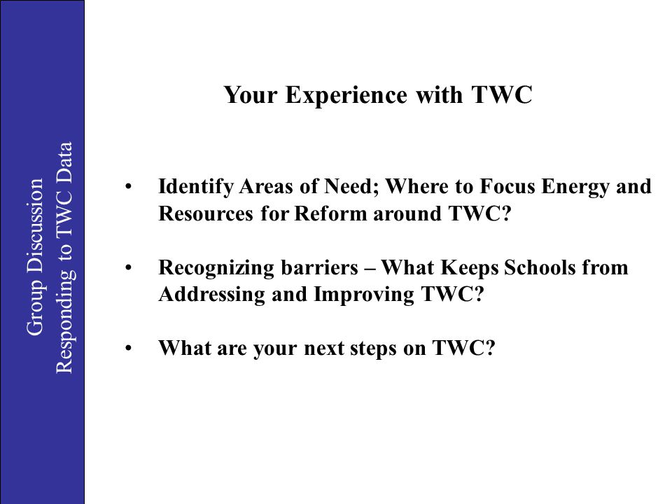 Your Experience with TWC