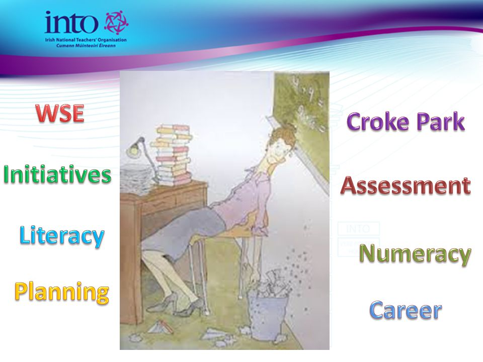 WSE Croke Park Initiatives Assessment Literacy Numeracy Planning Career