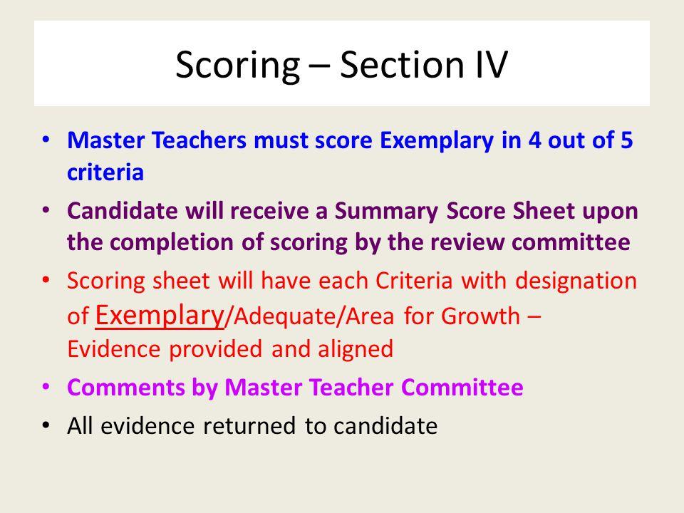 Master Teachers – 2008/2009/2010/2011/2012/2013/2014