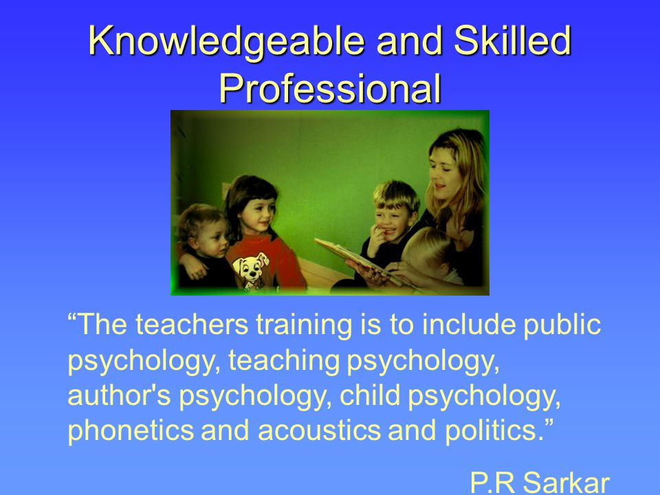 Knowledgeable and Skilled Professional