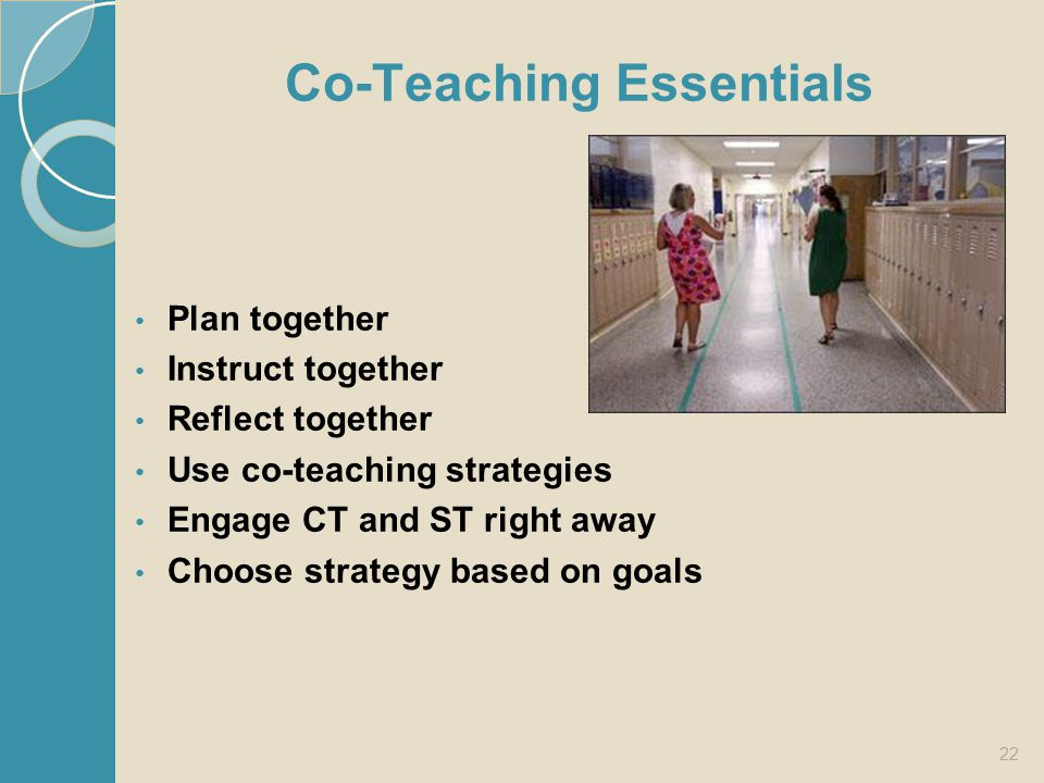 Co-Teaching Essentials