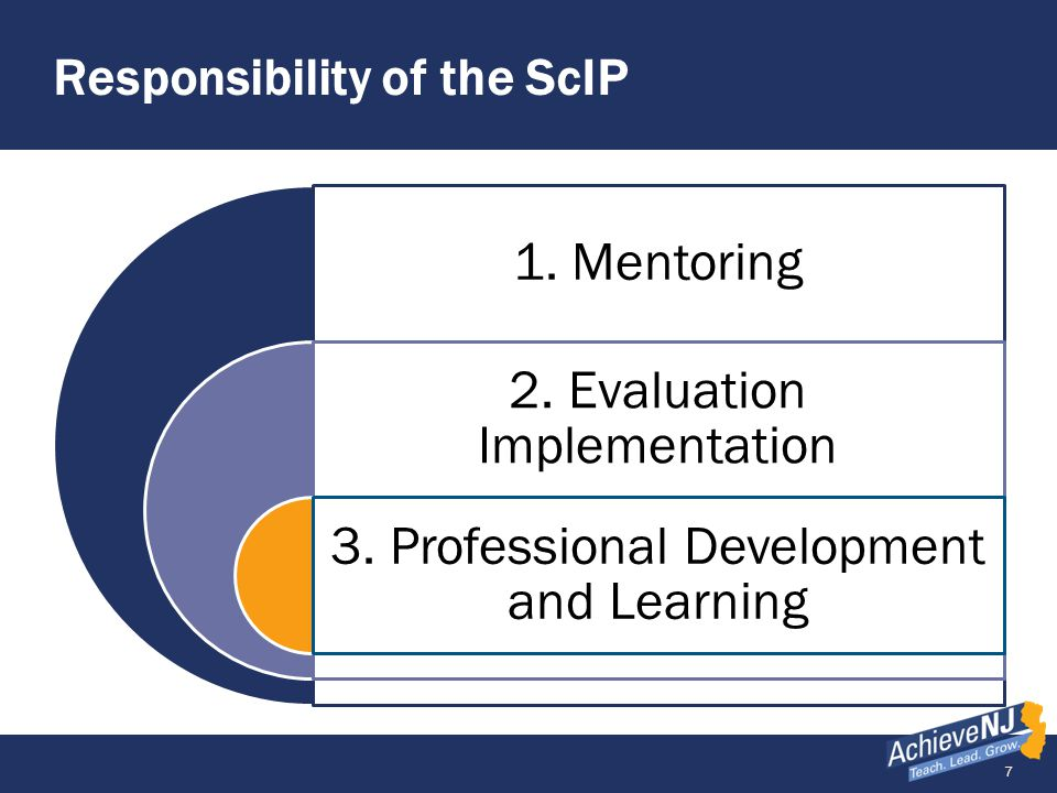 Responsibility of the ScIP