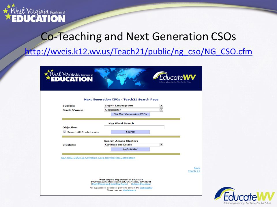 Co-Teaching and Next Generation CSOs