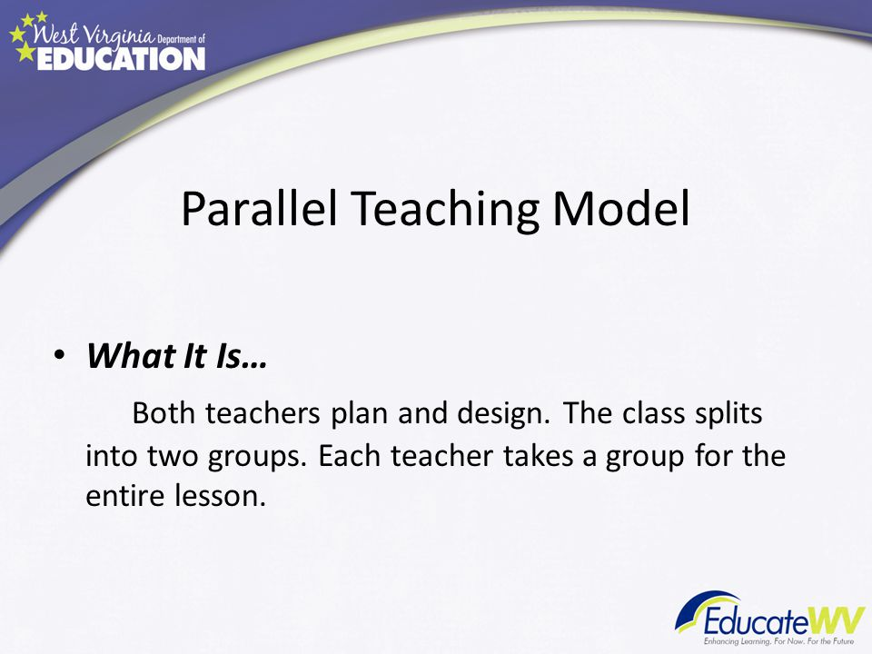 Parallel Teaching Model