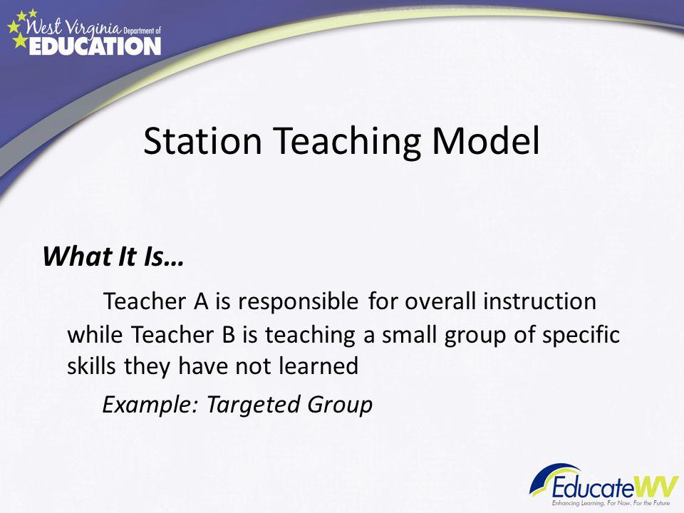 Station Teaching Model