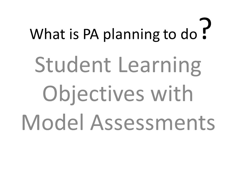 What is PA planning to do