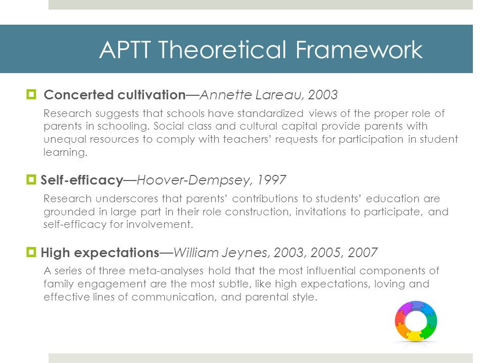 APTT Theoretical Framework