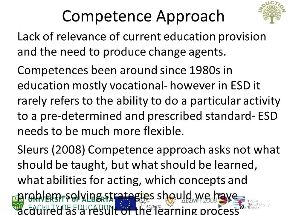 Competence Approach