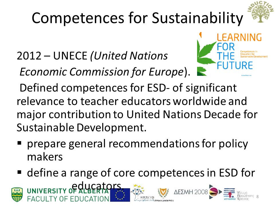 Competences for Sustainability