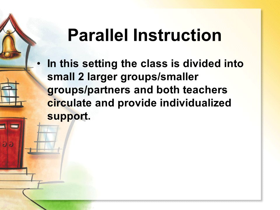 Parallel Instruction