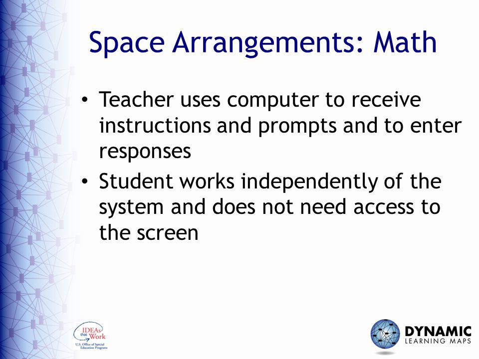 Space Arrangements: Math