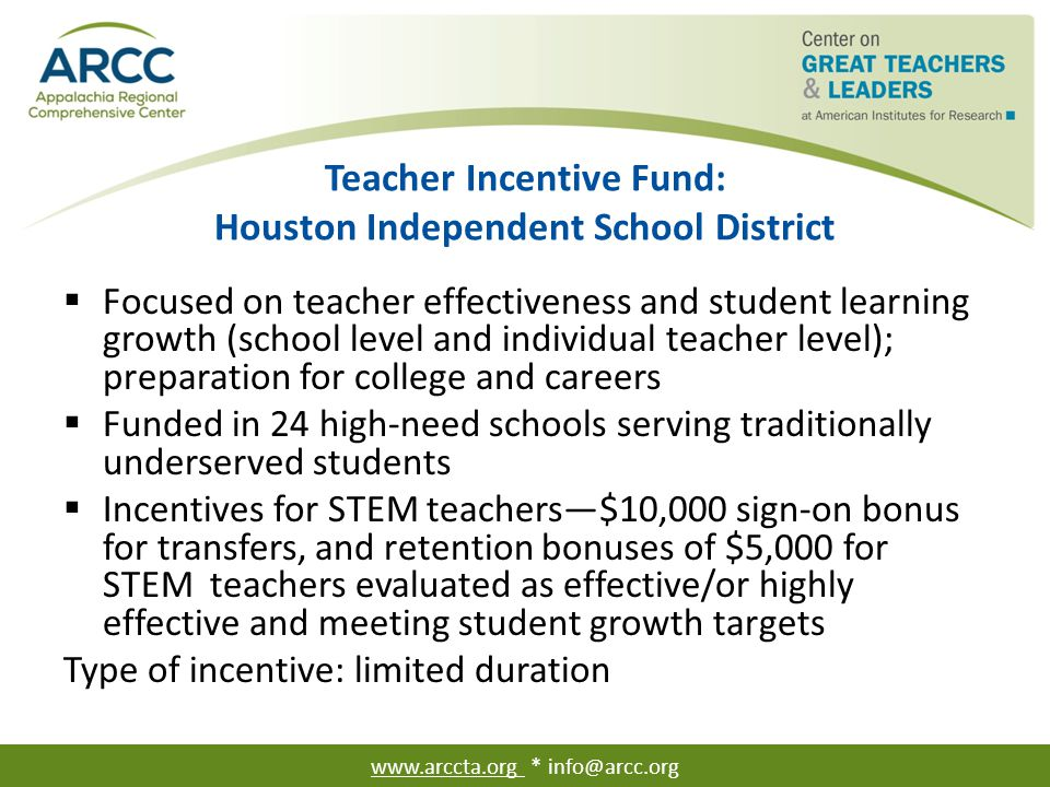 Differentiated Compensation for New Math and Science Teachers: Georgia