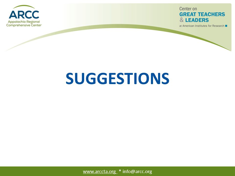 Suggestions from Public Impact's Opportunity Culture