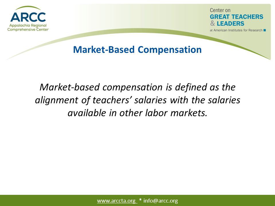 Tennessee's Teacher Compensation Reforms