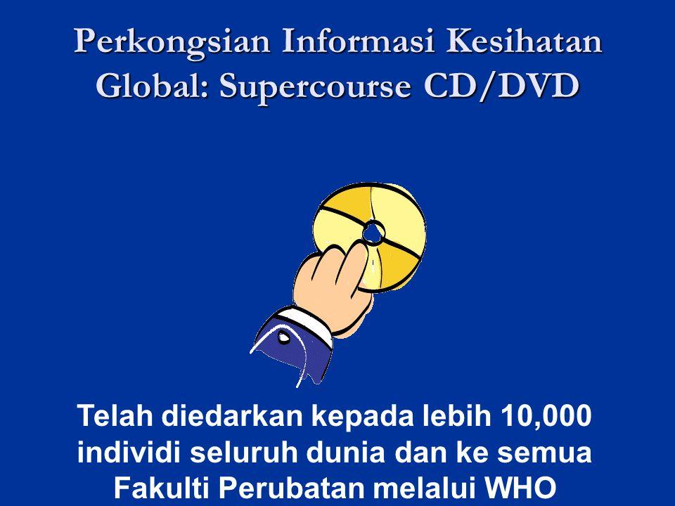Perkongsian Informasi Kesihatan Global: Supercourse CD/DVD