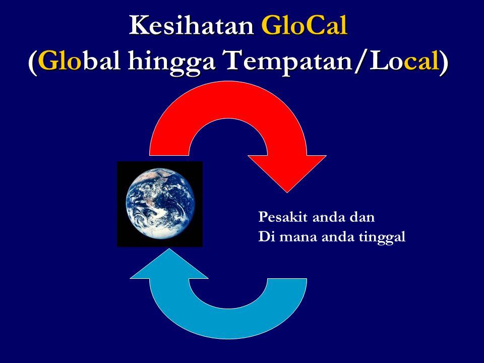 Kesihatan GloCal (Global hingga Tempatan/Local)