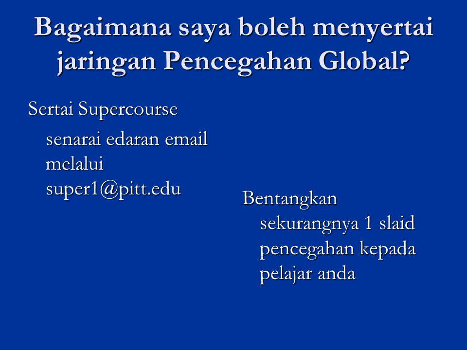 Bagaimana saya boleh menyertai jaringan Pencegahan Global