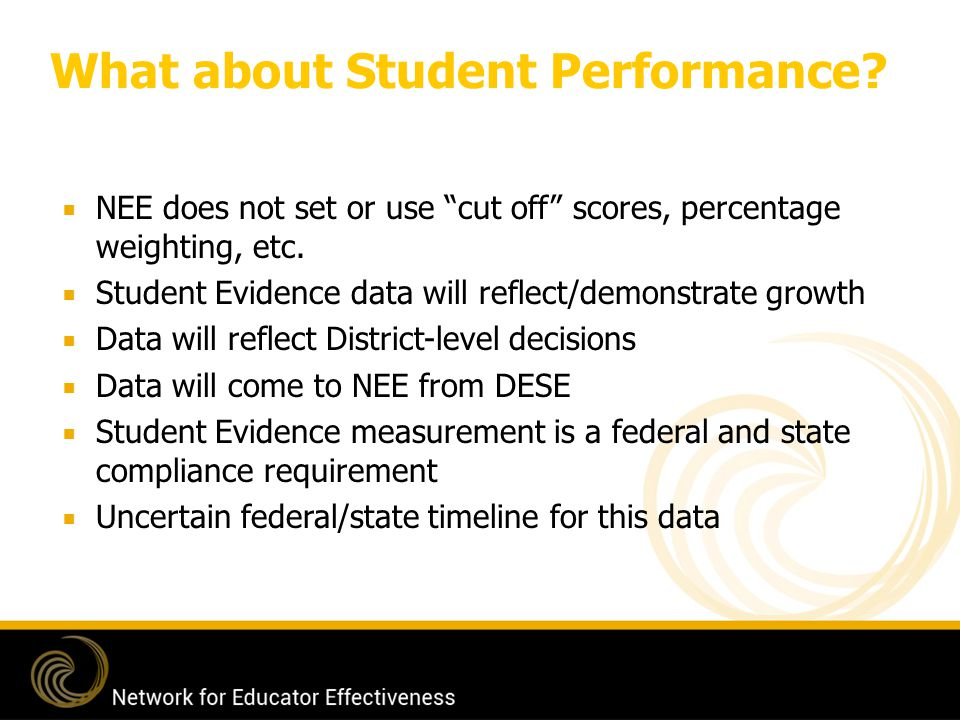 What about Student Performance