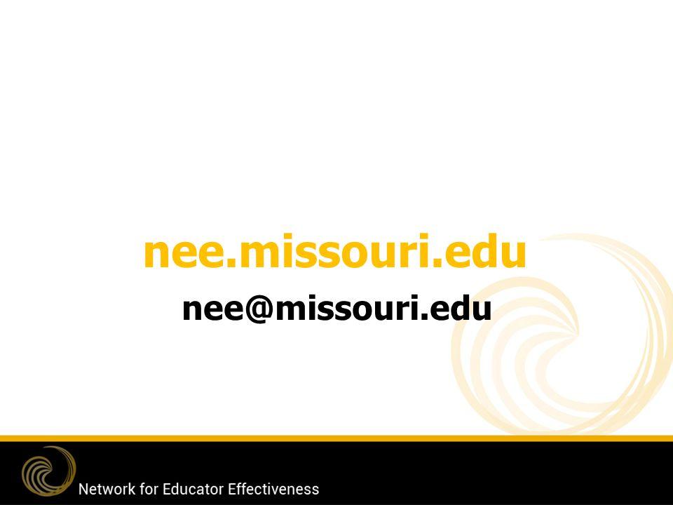 nee.missouri.edu nee@missouri.edu