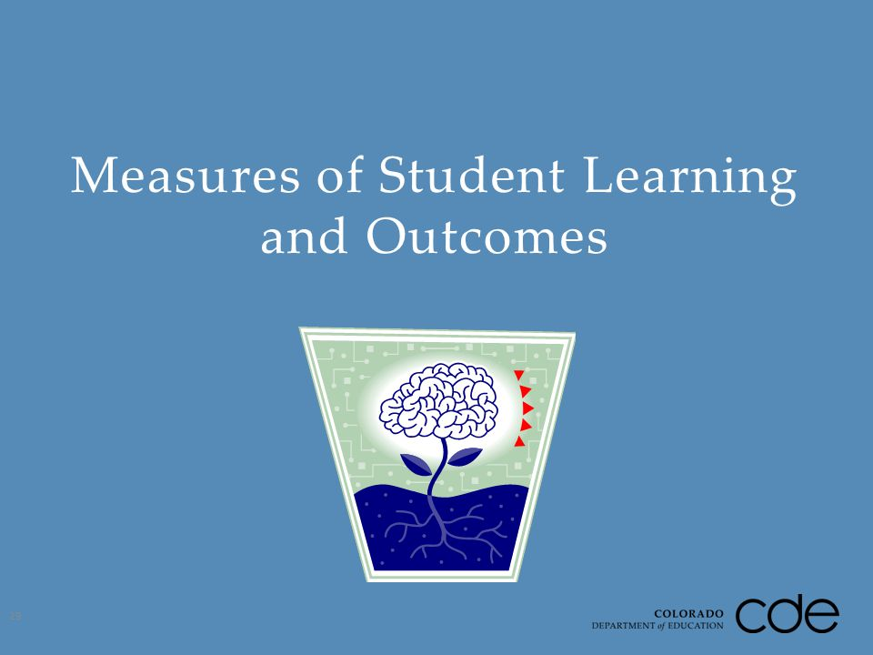 Measures of Student Learning and Outcomes