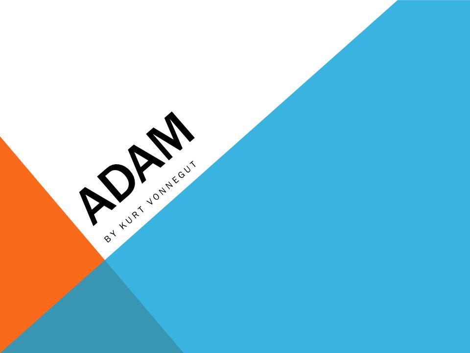 Adam By Kurt vonnegut