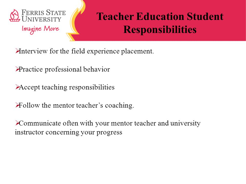 Teacher Education Student