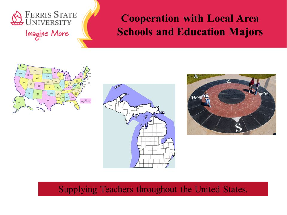 Cooperation with Local Area Schools and Education Majors