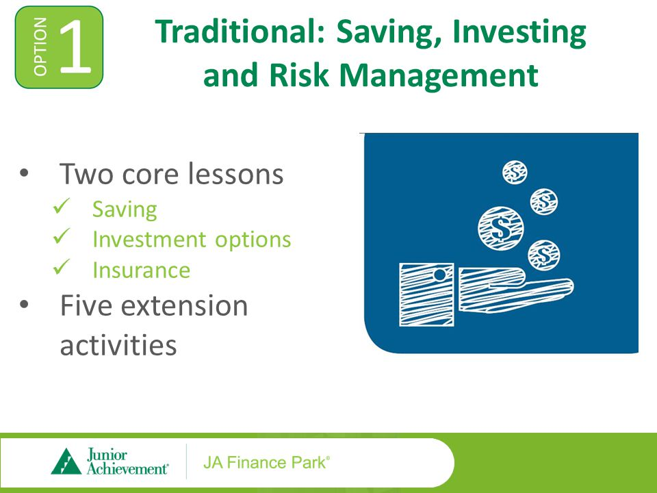 Lesson One: Saving and Investing