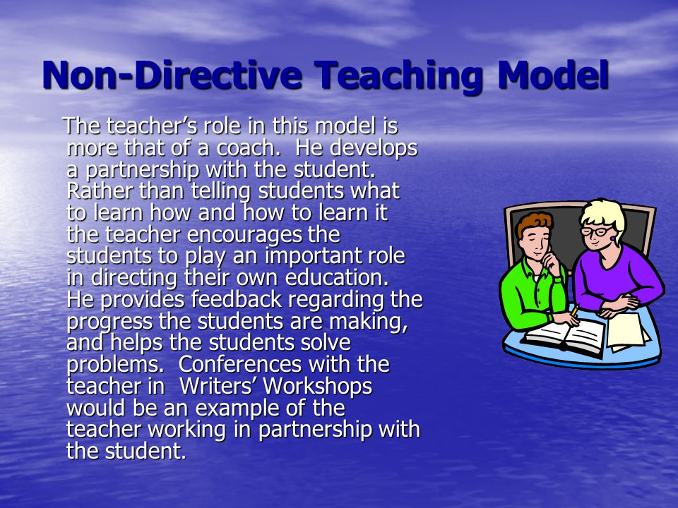 Non-Directive Teaching Model