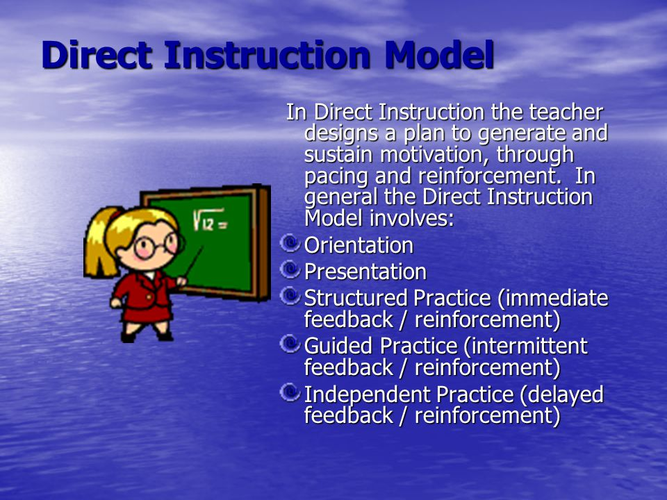 Direct Instruction Model