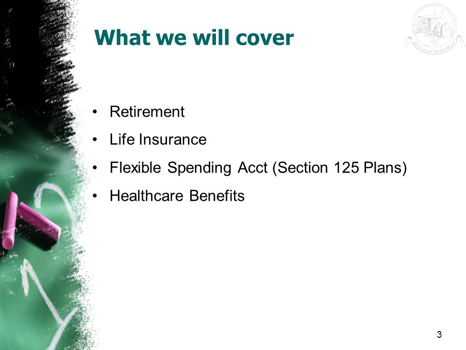 What we will cover Retirement Life Insurance