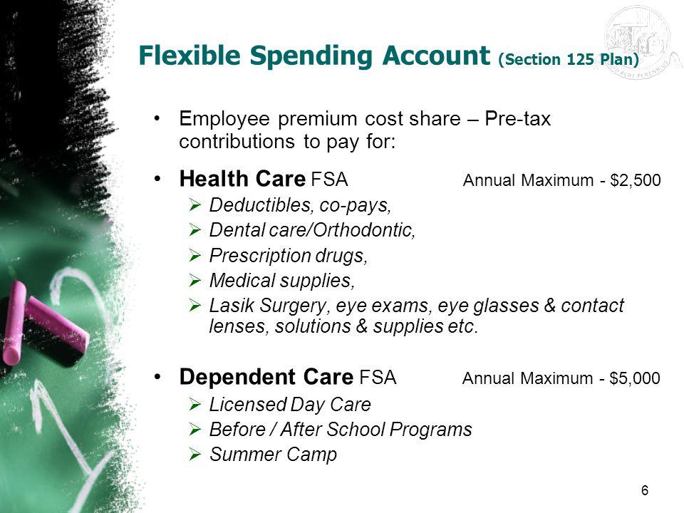 Flexible Spending Account (Section 125 Plan)