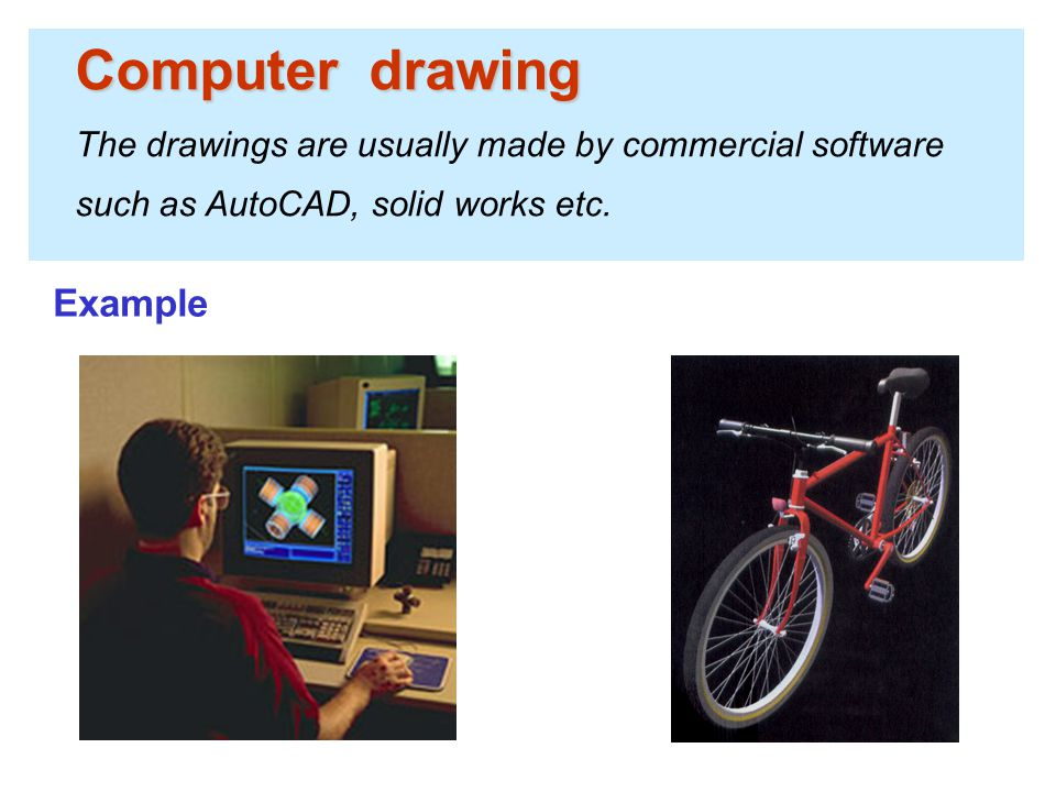 Computer drawing Example