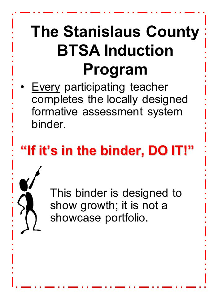 The Stanislaus County BTSA Induction Program