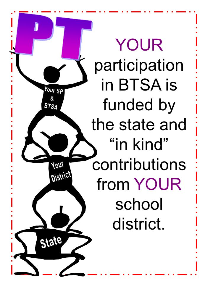 PT Your SP & BTSA Your District State