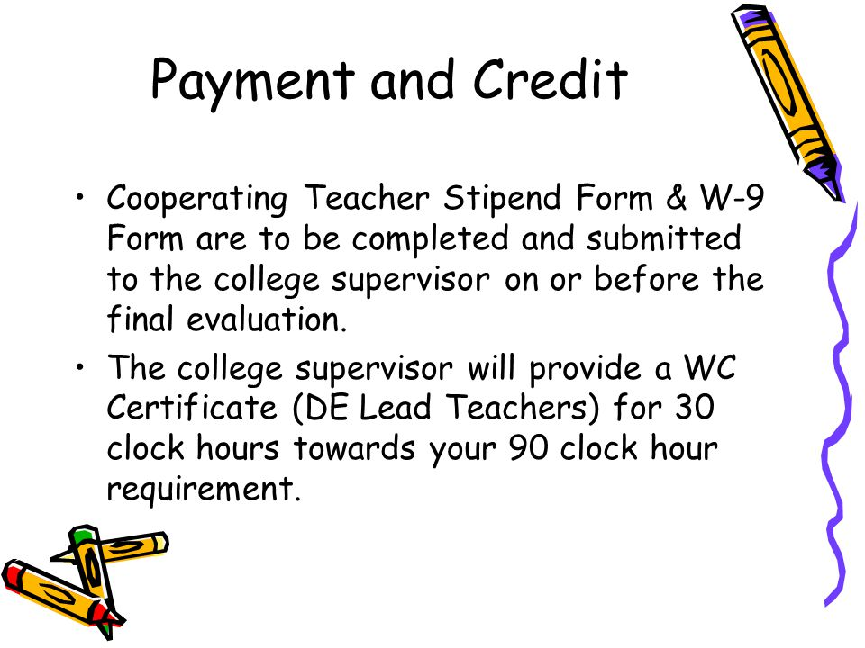 Payment and Credit