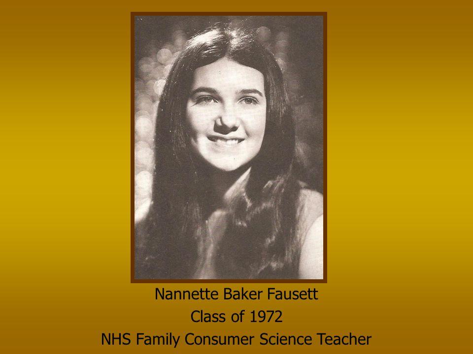 Nannette Baker Fausett Class of 1972
