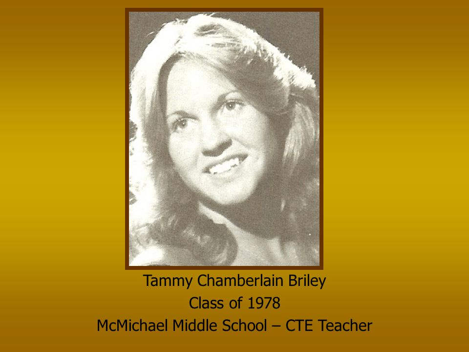 Tammy Chamberlain Briley Class of 1978