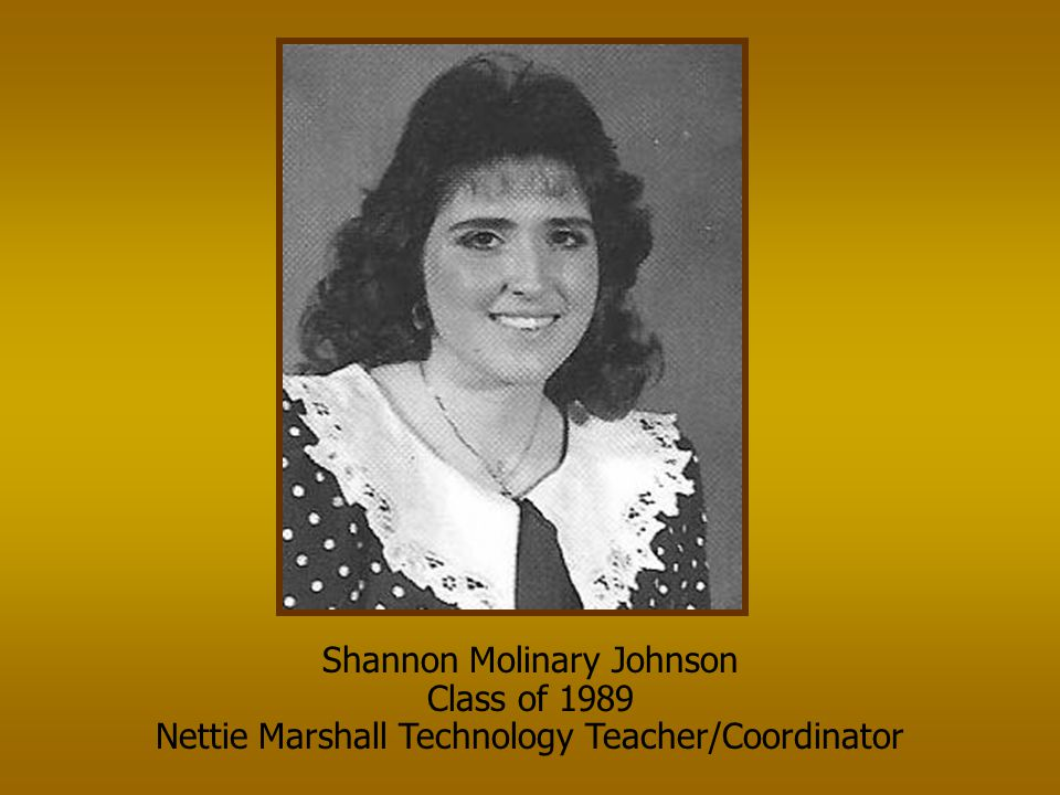 Shannon Molinary Johnson Class of 1989