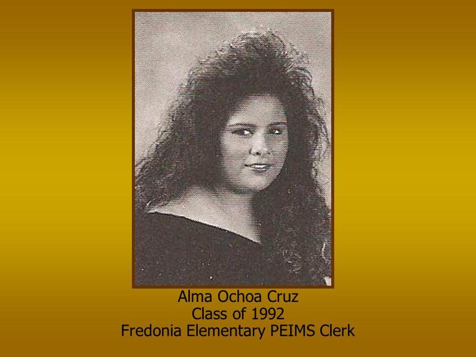 Fredonia Elementary PEIMS Clerk