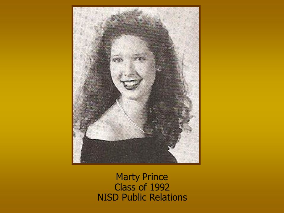 Marty Prince Class of 1992 NISD Public Relations