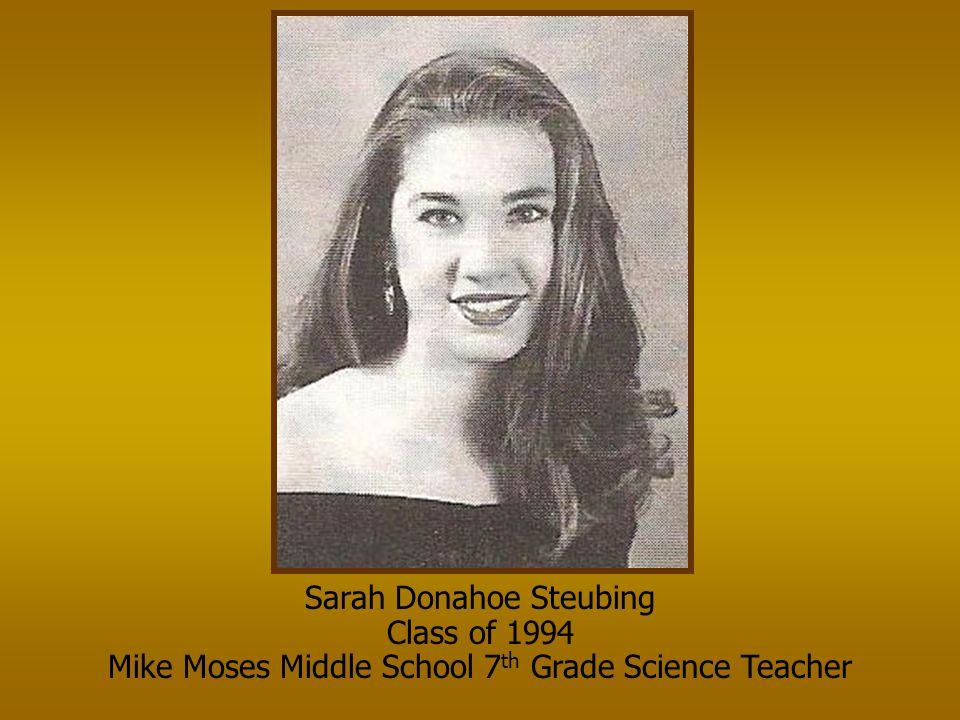 Sarah Donahoe Steubing Class of 1994