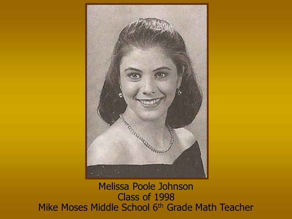 Mike Moses Middle School 6th Grade Math Teacher