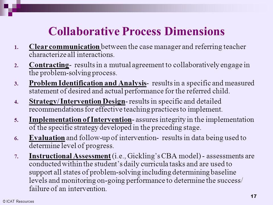 Collaborative Process Dimensions