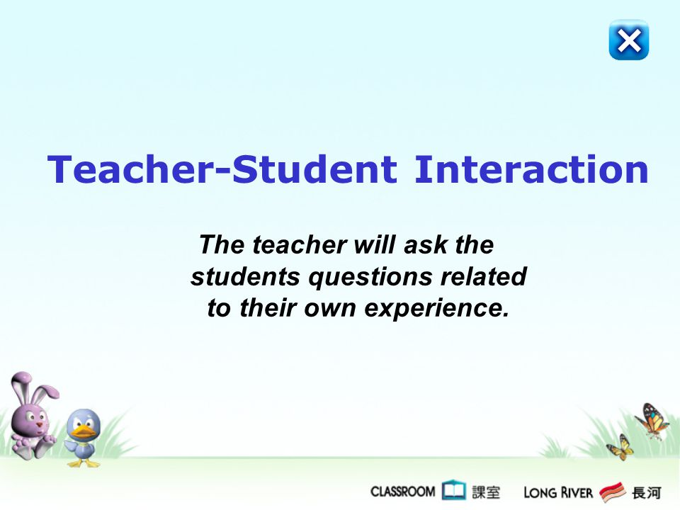Teacher-Student Interaction