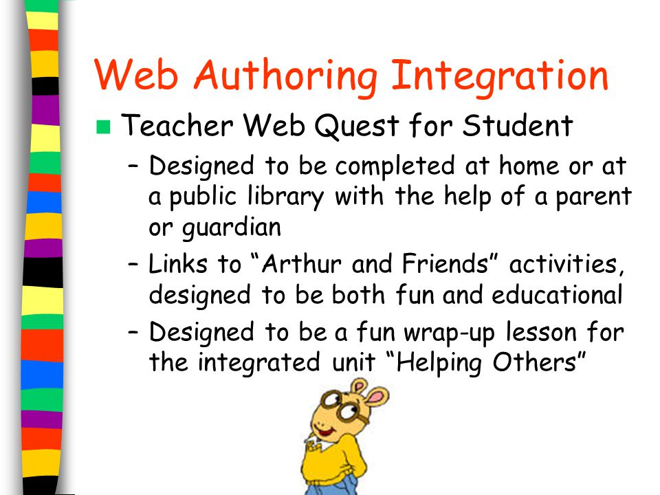 Web Authoring Integration