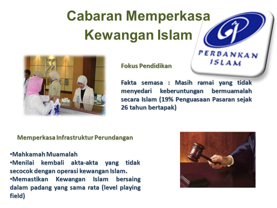 Cabaran Memperkasa Kewangan Islam