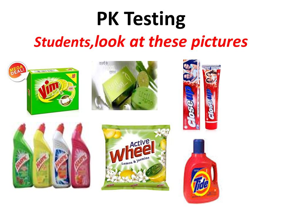 PK Testing Students,look at these pictures