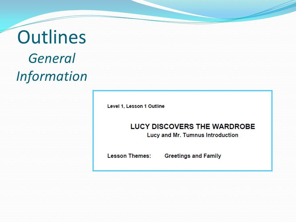 Outlines General Information