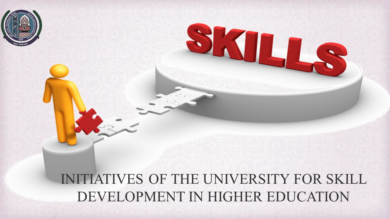 INITIATIVES OF THE UNIVERSITY FOR SKILL DEVELOPMENT IN HIGHER EDUCATION